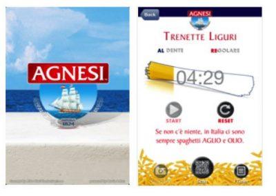 Pasta Agnesi – Cooking Timer App